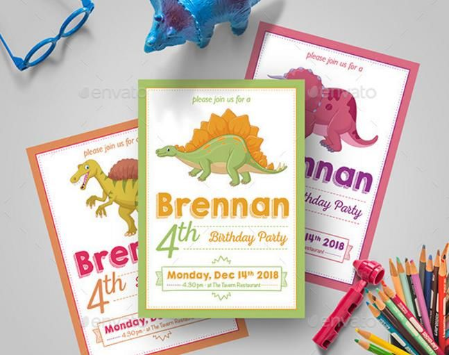 25+ Printable Kids Birthday Party Templates u2013 PSD,Ai,Indesign,Word - birthday party invitation template word