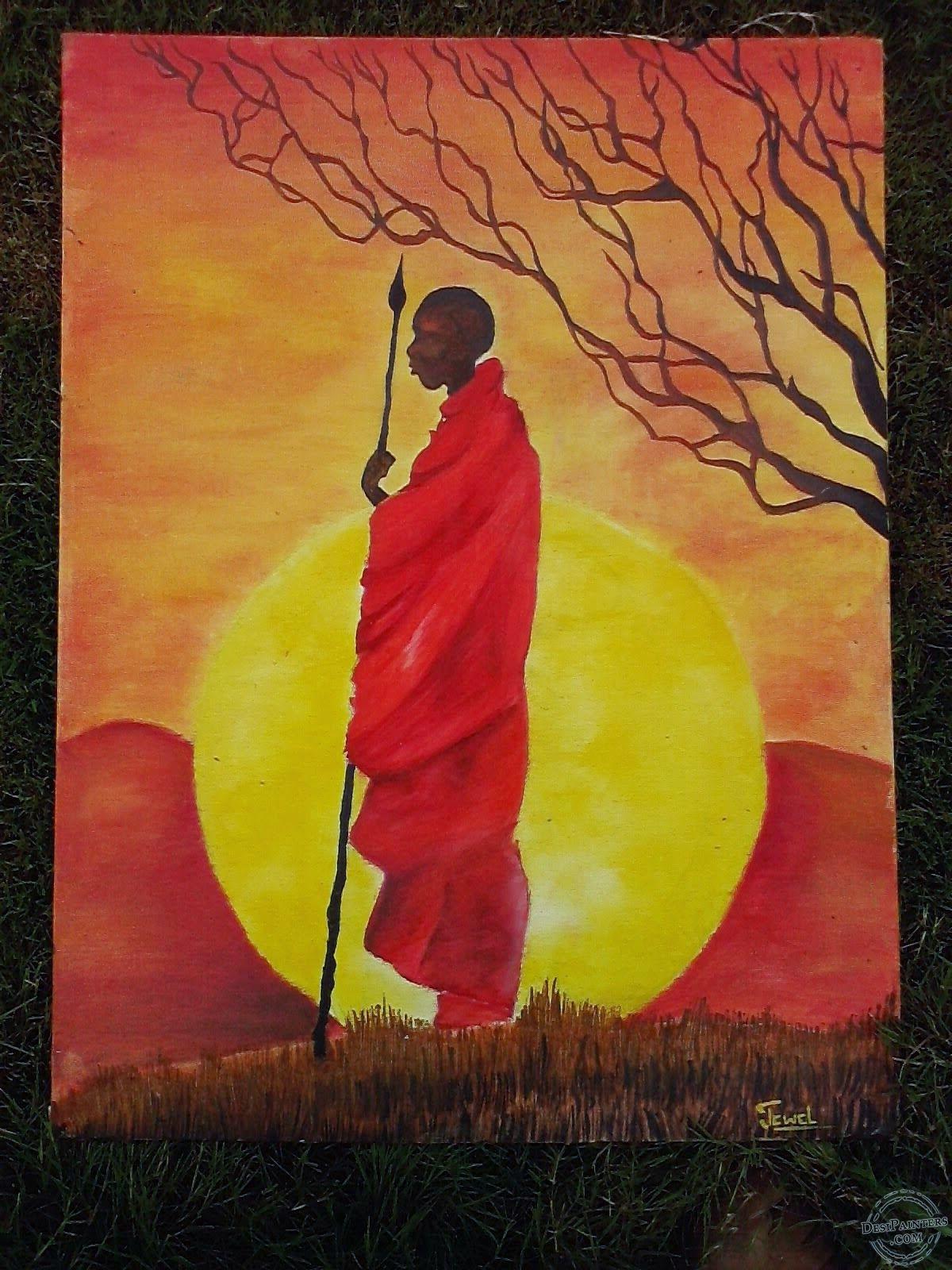 African face paint   AFRICAN ART in 2018   Pinterest   African face ...