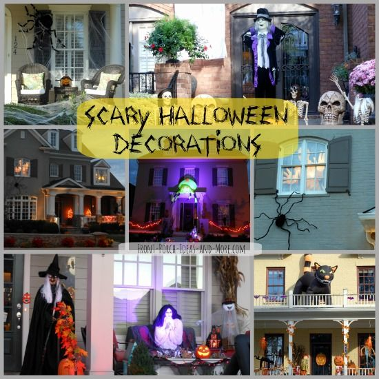 scary halloween decorations for young and old alike scary