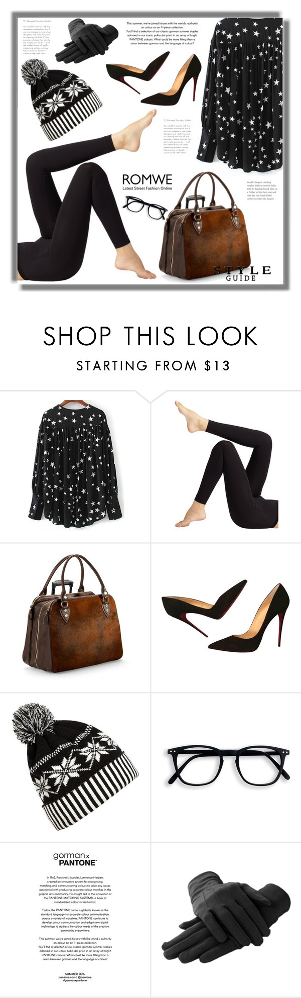 """""""Untitled #1599"""" by kriz-nambikatt ❤ liked on Polyvore featuring Wolford, Aspinal of London, Christian Louboutin and WithChic"""