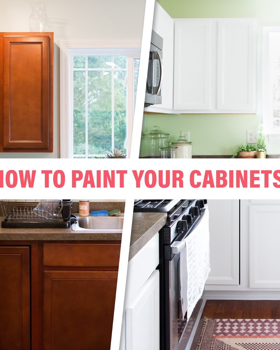 How To Paint Your Kitchen Cabinets So It Looks Like You Totally Replaced Them Wood Kitchen Cabinets Clean Kitchen Cabinets Quality Kitchen Cabinets