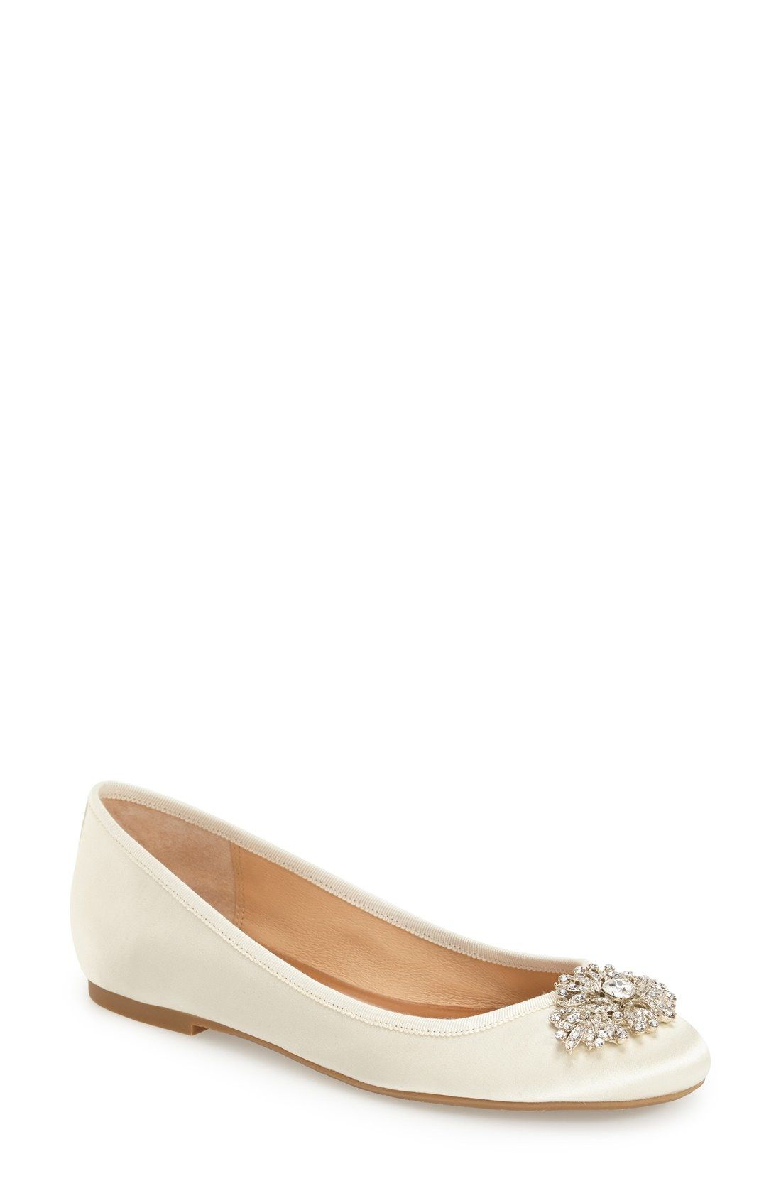 02e7df4c516 Badgley Mischka  Abella  Embellished Flat (Women) available at  Nordstrom