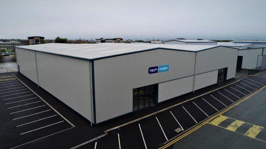 Triton Completes 1 2m Warehouse For Tech Folien Architecture