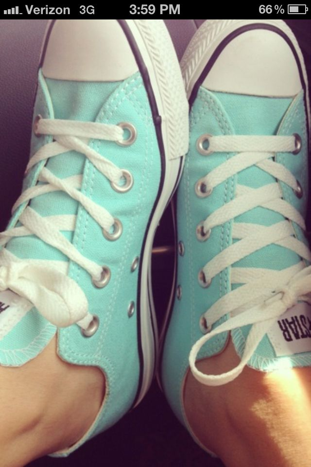 The only way I'd ever wear these shoes : if they were this color.