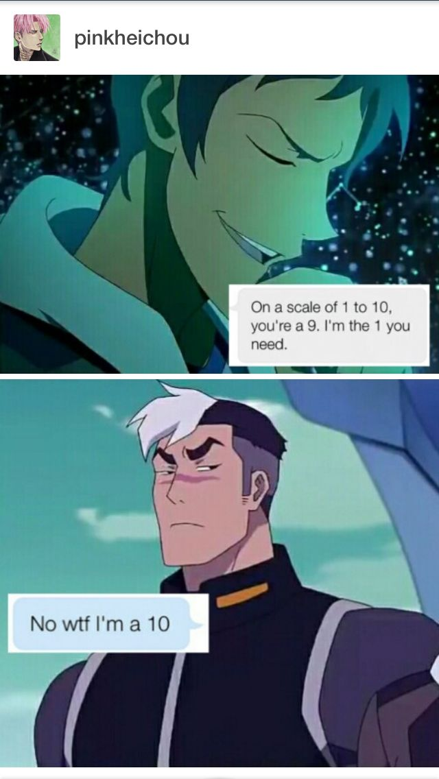 #voltron Lance and Shiro