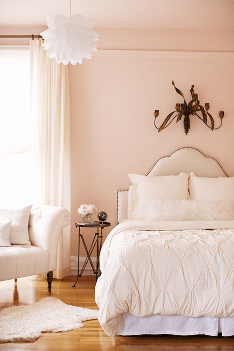 Awesome Pale Pink Walls Peach bedroom, Home bedroom