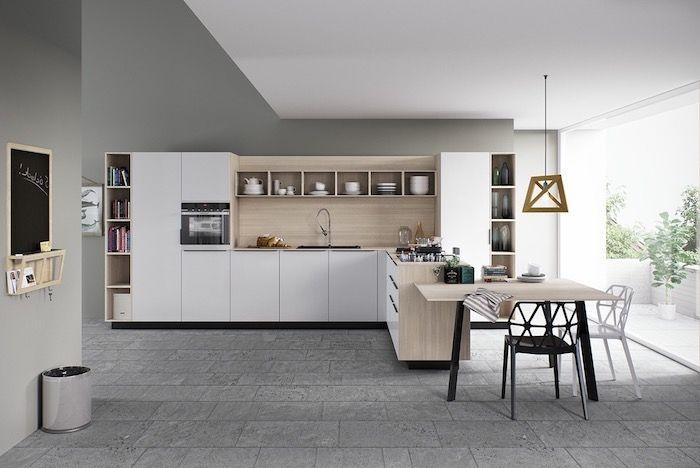 ▷ 1001 + conseils et idées pour aménager une cuisine moderne blanche