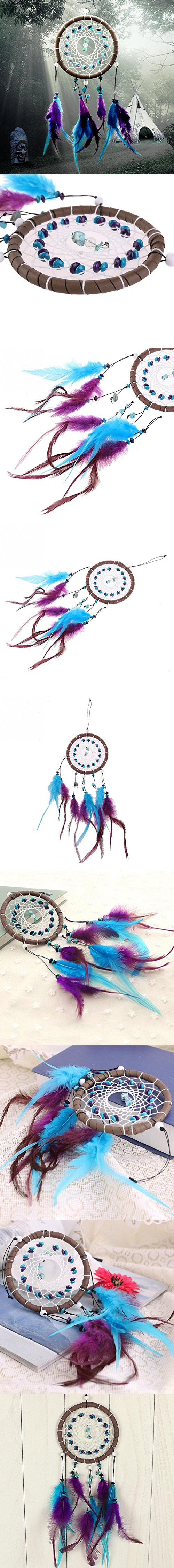 New Fashion Wind Chimes Indian Style Feather Pendant Dream Catcher ... for Indian Hanging Decorations  15lptgx