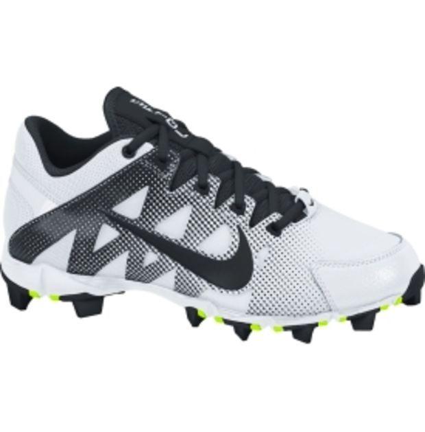 Nike Women's Hyperdiamond Keystone Softball Cleats - White/Black | DICK'S  Sporting Goods