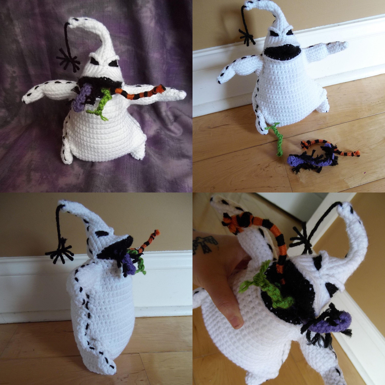 Crochet Oogie Boogie Oogie Boogie Crochet Crocheted Item