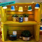 DIY: luminária de copinhos