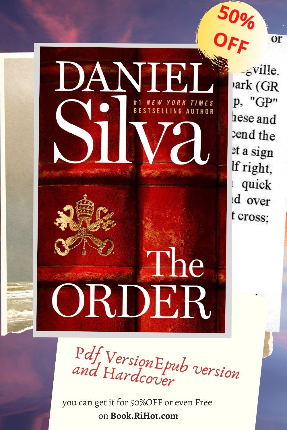 P D F The Order Gabriel Allon Series 20 2020 For 70 Off In 2020 Best Selling Books Series Order