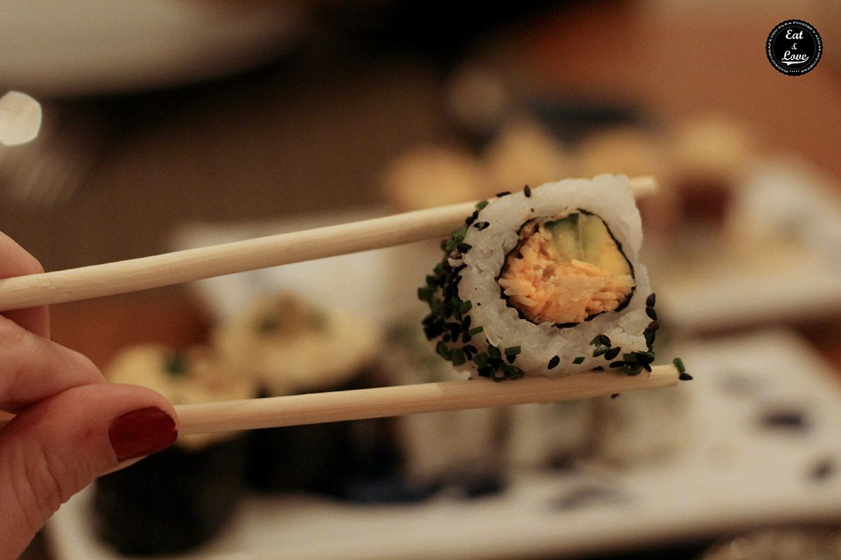 California roll de centollo - Ronda 14 Madrid