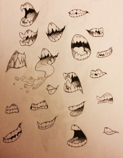 Fangs Reference Google Search Art Sketches Art Reference Teeth Art
