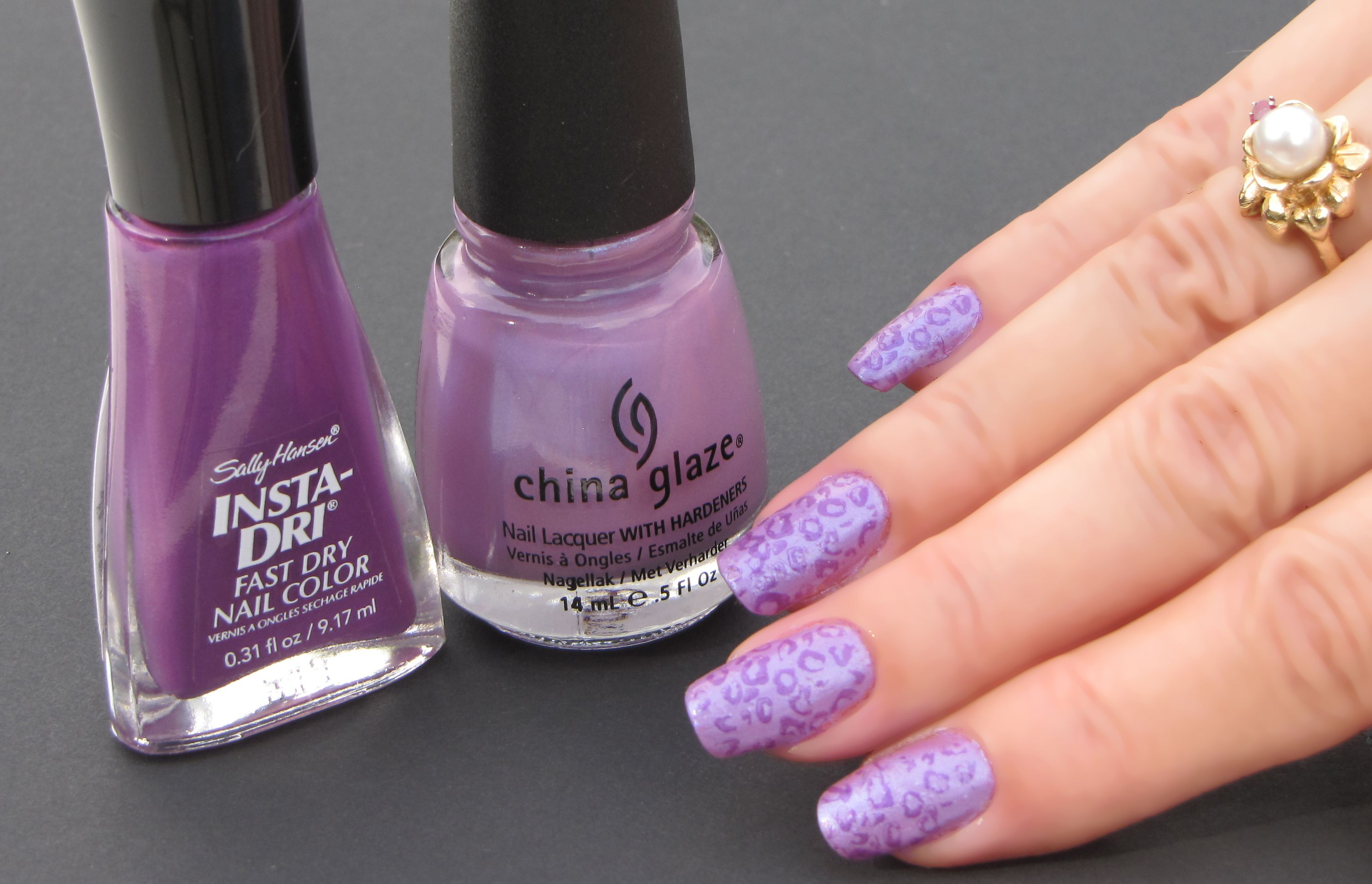 This Weekend S Manicure China Glaze Tantalize Me Sally Hansen