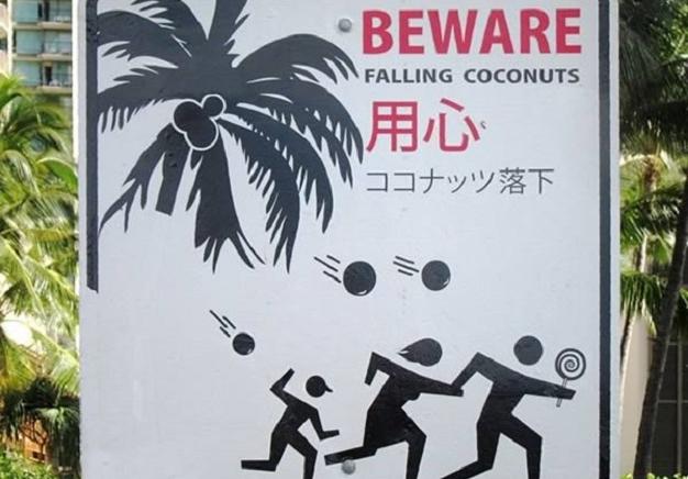 Colombiano e o coco