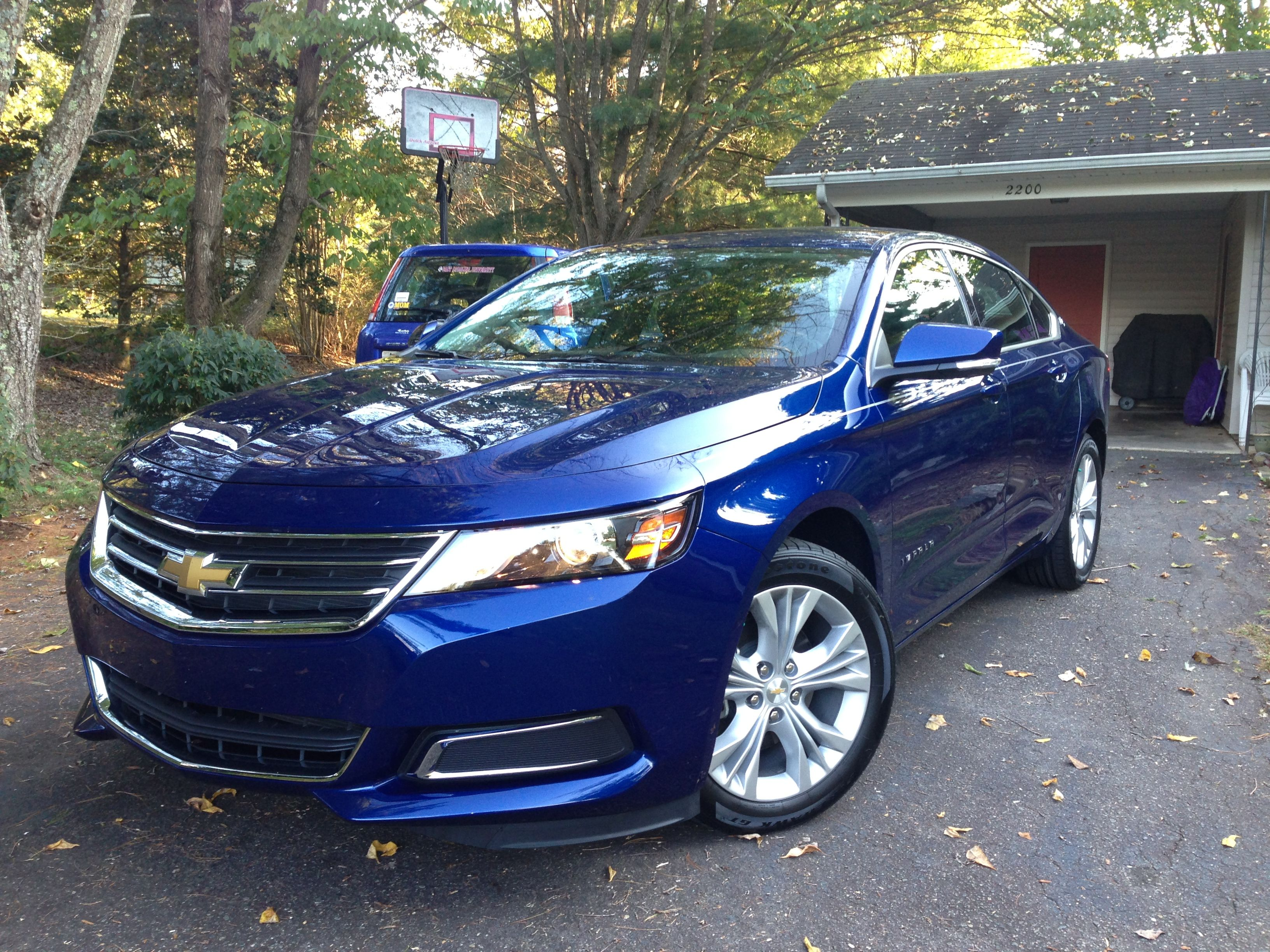 2014 Chevy Impala Lt I Ve Never Owned A Blue Car Before Love