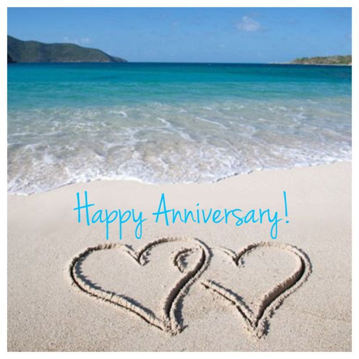 Image Result For Wedding Anniversary Beach Images Happy First