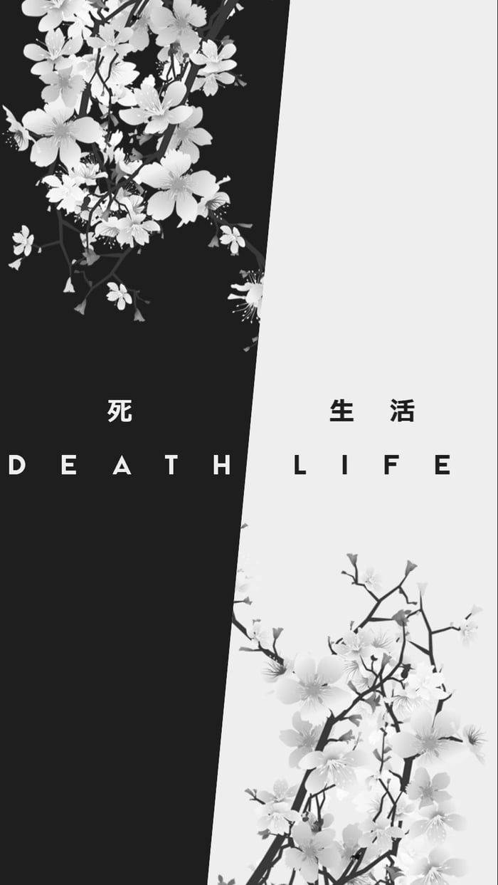 Life and death - #death #Life #wallpaper #darkiphonewallpaper