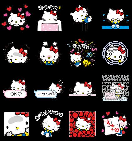 Hello Kitty Animated Stickers Pop Up Hello Kitty Backgrounds Hello Kitty Wallpaper Hello Kitty Pictures