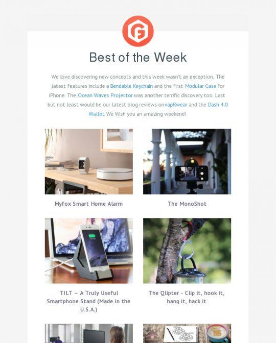 Newsletter example newsletter Pinterest Email newsletter