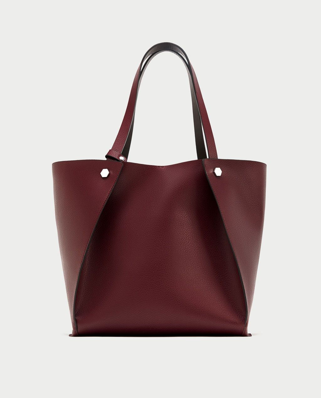e358934b REVERSIBLE STUDDED TOTE BAG-View all-BAGS-WOMAN | ZARA United States ...