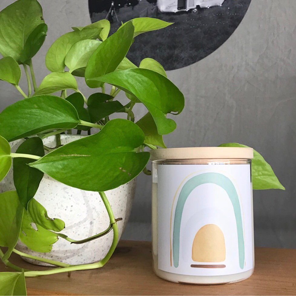 Our Sage Rainbow Candle via changeroomshop This was a collaboration with the very talented nataliejadecollective Make sure you get out and about this festive season and