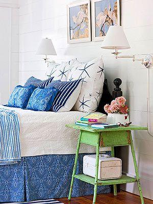 Coastal Decorating Ideas Coastal decor, Bedrooms and Beach