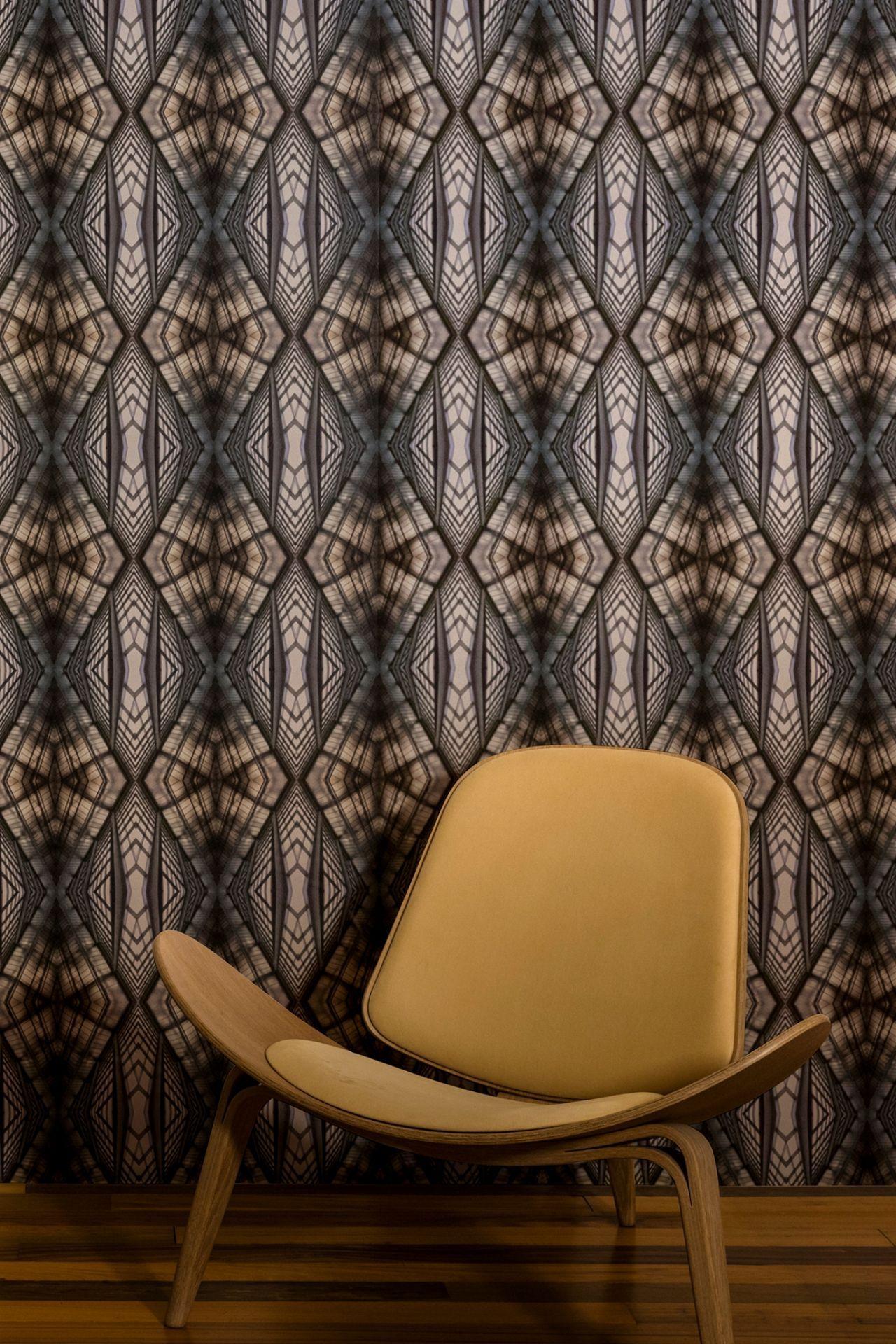 Inbetween mid century wallpaper art deco wallpaper