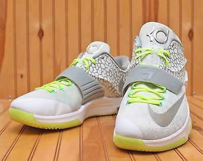 wholesale dealer 5c2c6 ecd07 Nike ID KD VII 7 Size 17 - White Grey Volt - Kevin Durant - 704380 982 in  Clothing, Shoes   Accessories, Men s Shoes, Athletic   eBay