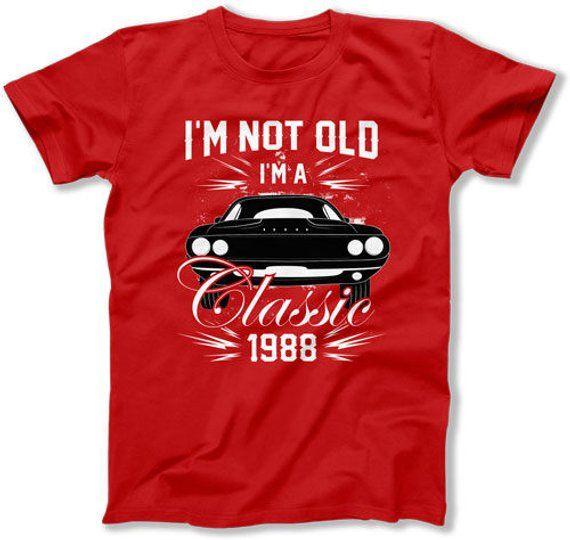 30th Birthday Shirt Bday Gift Ideas For Men Presents Him Custom TShirt Im Not Old A Cl
