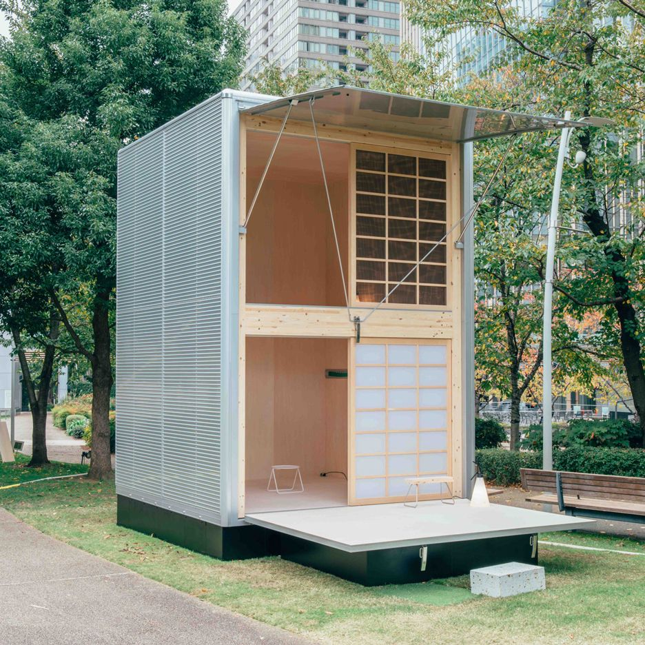 Hut Design: Muji's Set Of Ready-constructed Huts Designed By Grcic