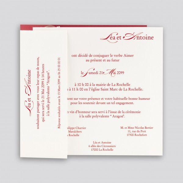 invitation mariage texte recherche
