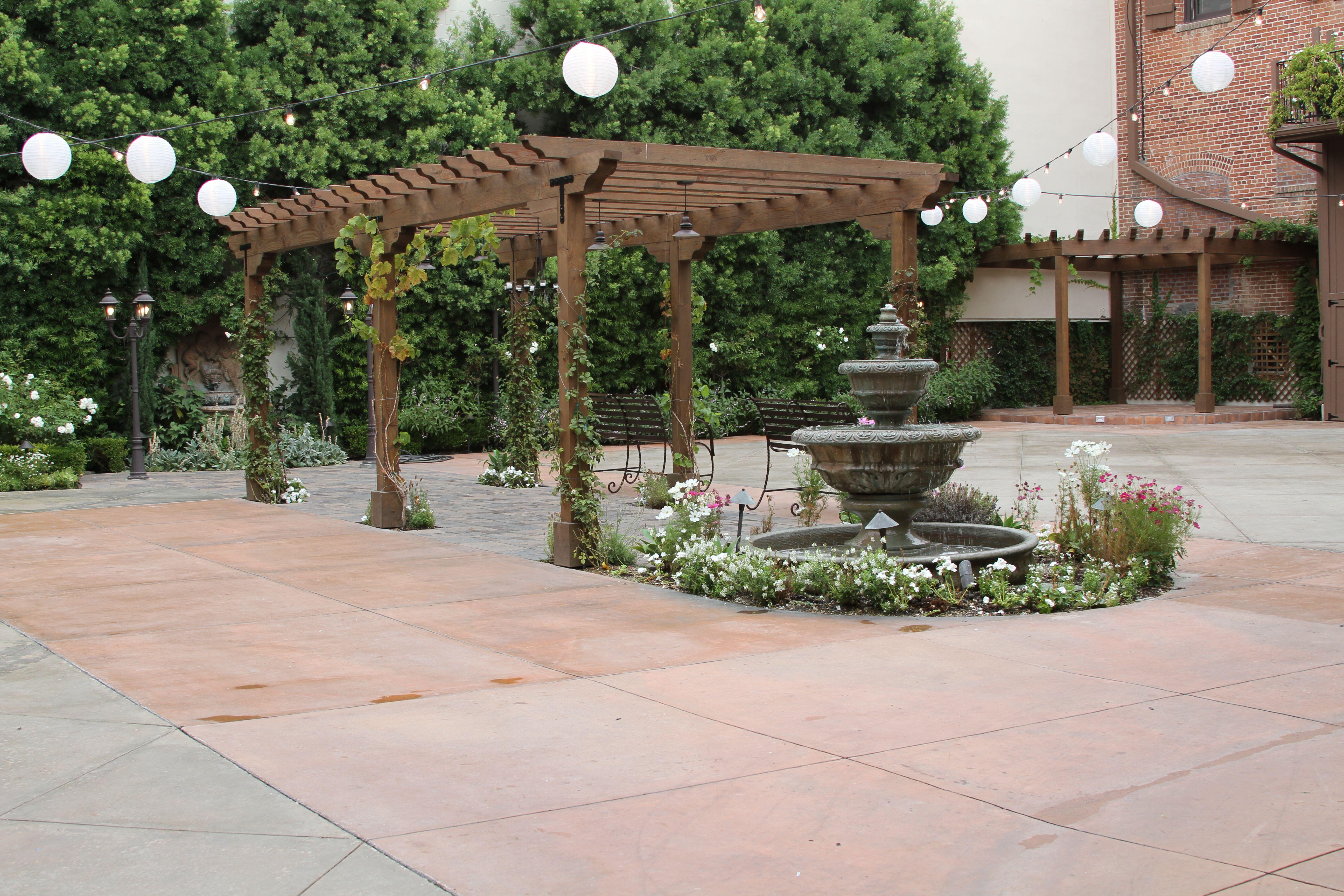 San juan capistrano ca franciscan gardens wedding - Franciscan gardens san juan capistrano ...