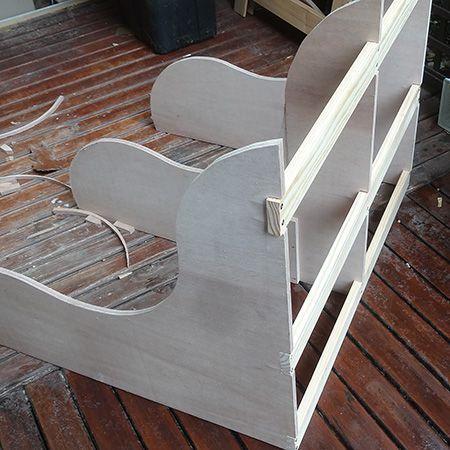 diy fabriquer un banc de jardin en bois