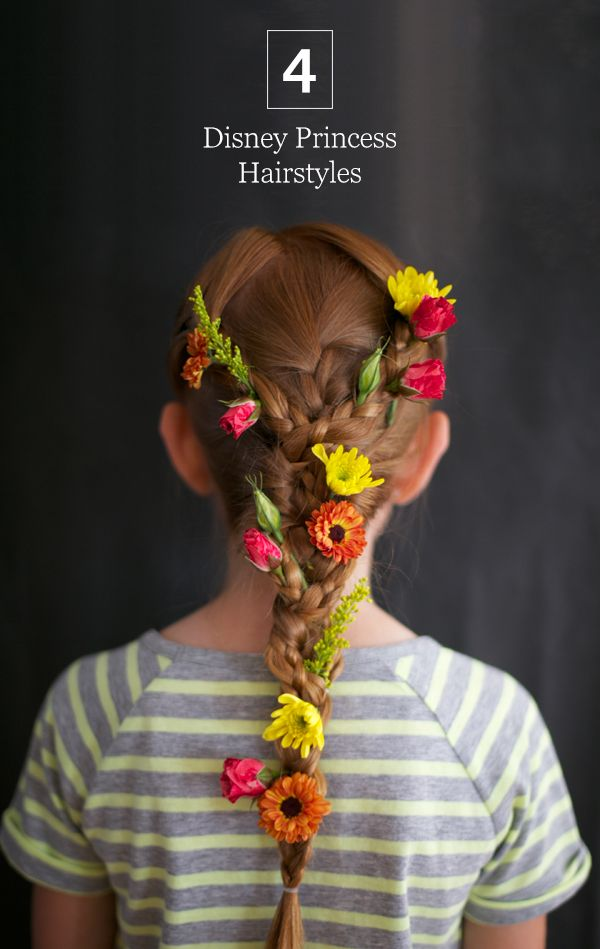 4 disney princess hair tutorials
