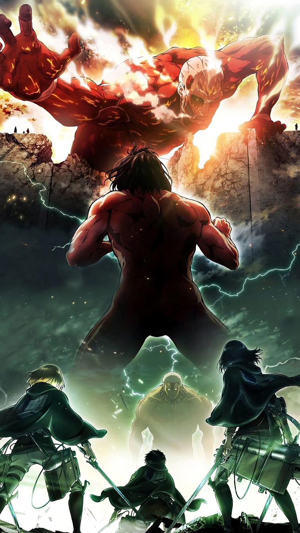 Attack On Titan Wallpaper 4k Phone Picture Idokeren