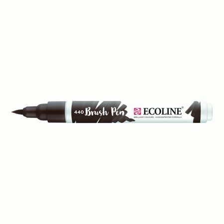 Ecoline Liquid Watercolour Brush Pen Sepia Deep Watercolor