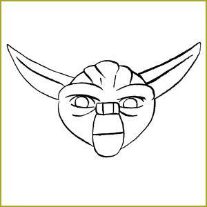 Draw yoda for pin the ears on yoda   Star wars comics ...