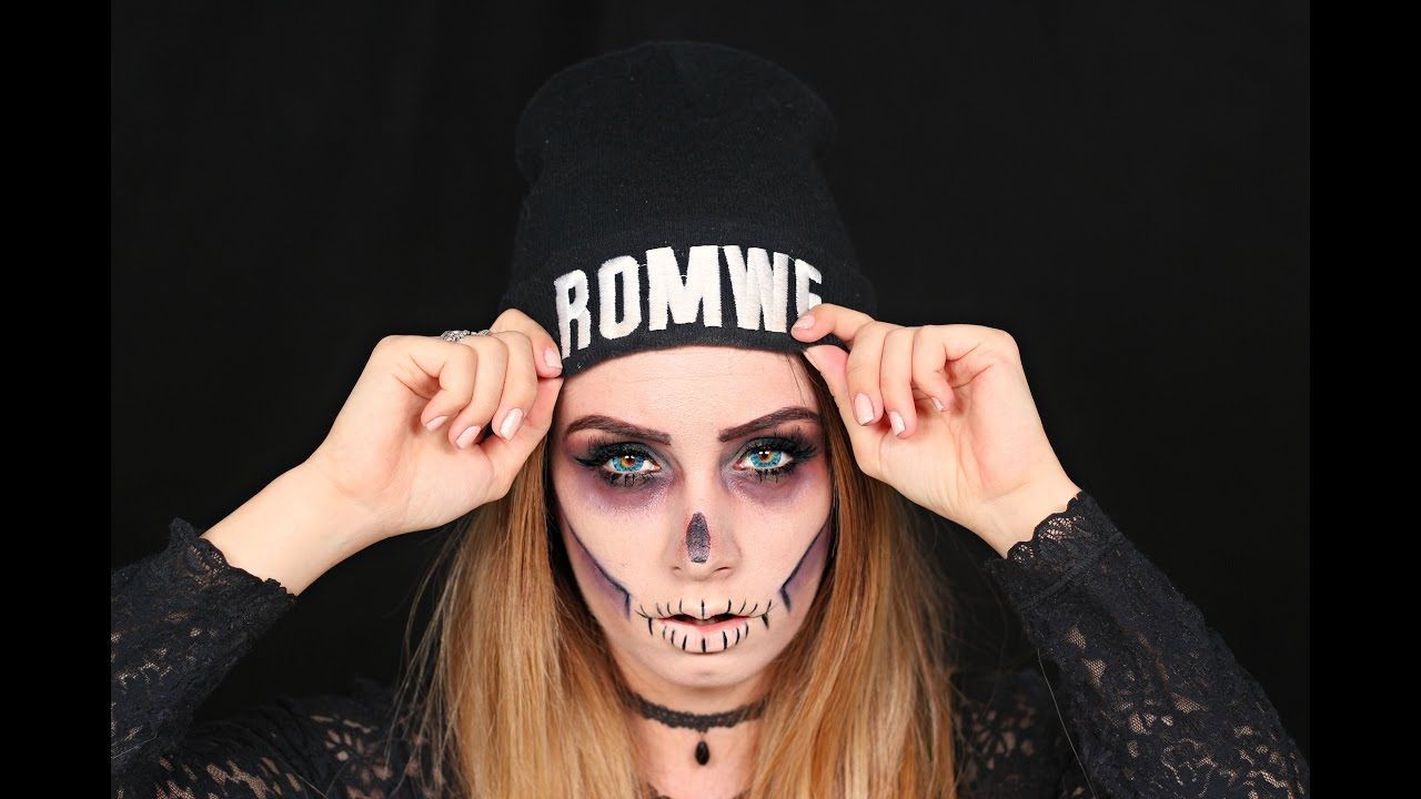 Easy skull makeup tutorial watch httpsyoutubewatchv easy skull makeup tutorial watch httpsyoutube baditri Image collections