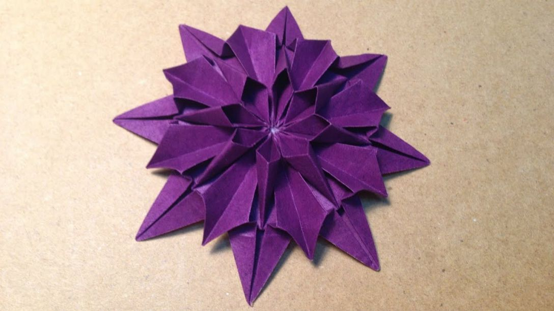 How to make origami lotus flowers | 612x1088