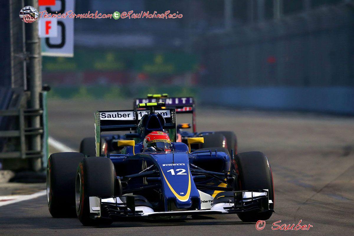 """Nasr: """"No hemos tenido un fin de semana fácil, es bueno terminar la carrera con algo de satisfacción""""  #F1 #Formula1 #SingaporeGP"""