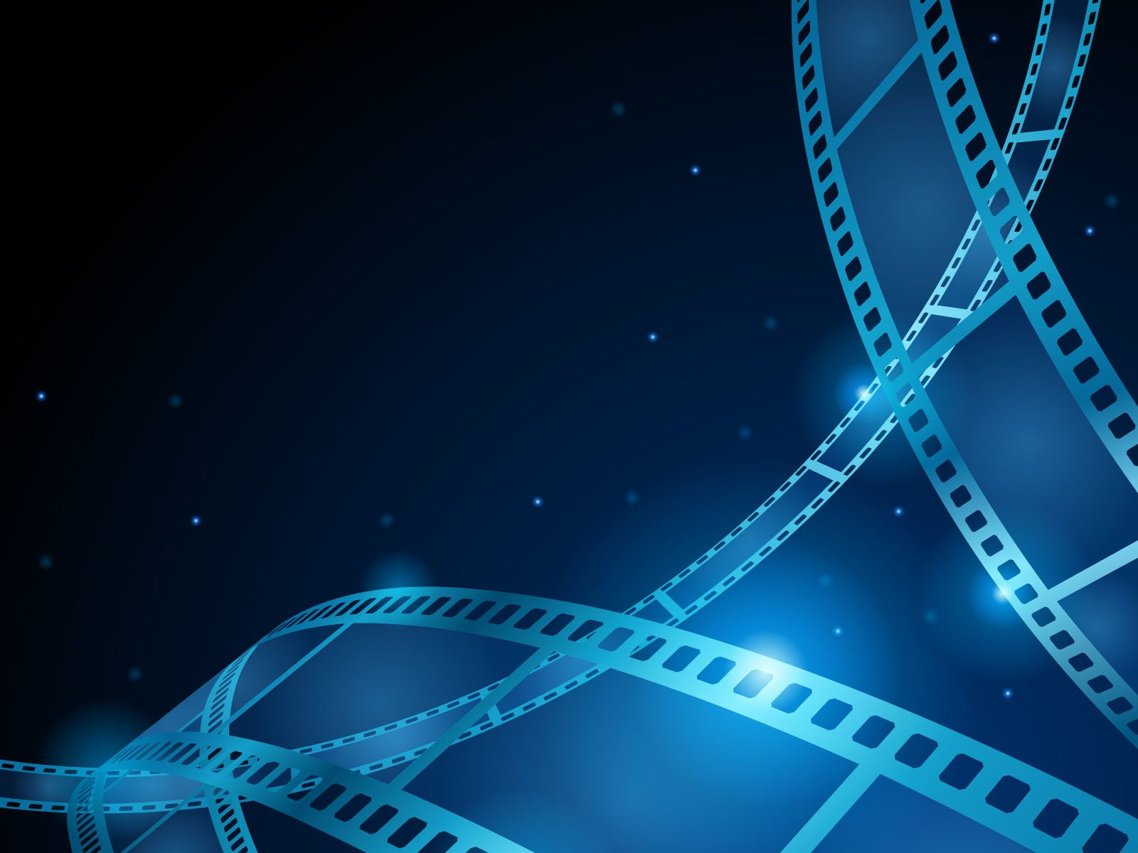 Blue movie, film strip PPT Backgrounds | Dark images ...