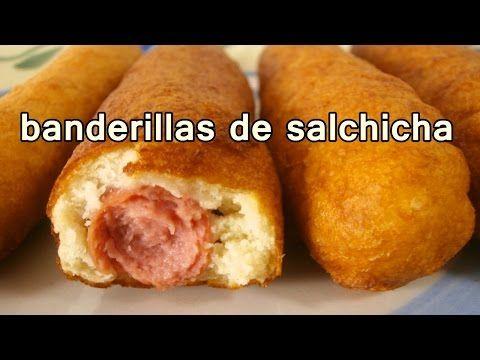 Banderillas de salchicha recetas de cocina faciles for Comidas economicas y rapidas de preparar