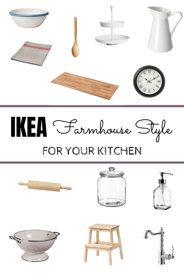 Great Farmhouse IKEA finds for your kitchen - Make Calm Lovely -   18 room decor Ikea kitchens ideas
