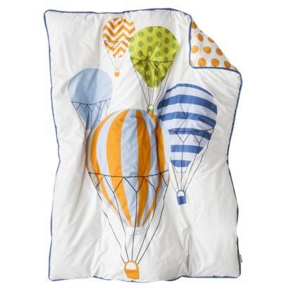 Room 365 Hot Air Balloon 3pc Crib Bedding Set