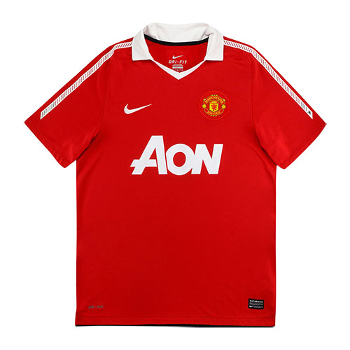 10 11 Manchester United Home Red Retro Jerseys Shirt Cheap Soccer Jerseys Shop Minejerseys Cn In 2020 Soccer Jersey Manchester United Manchester United Logo