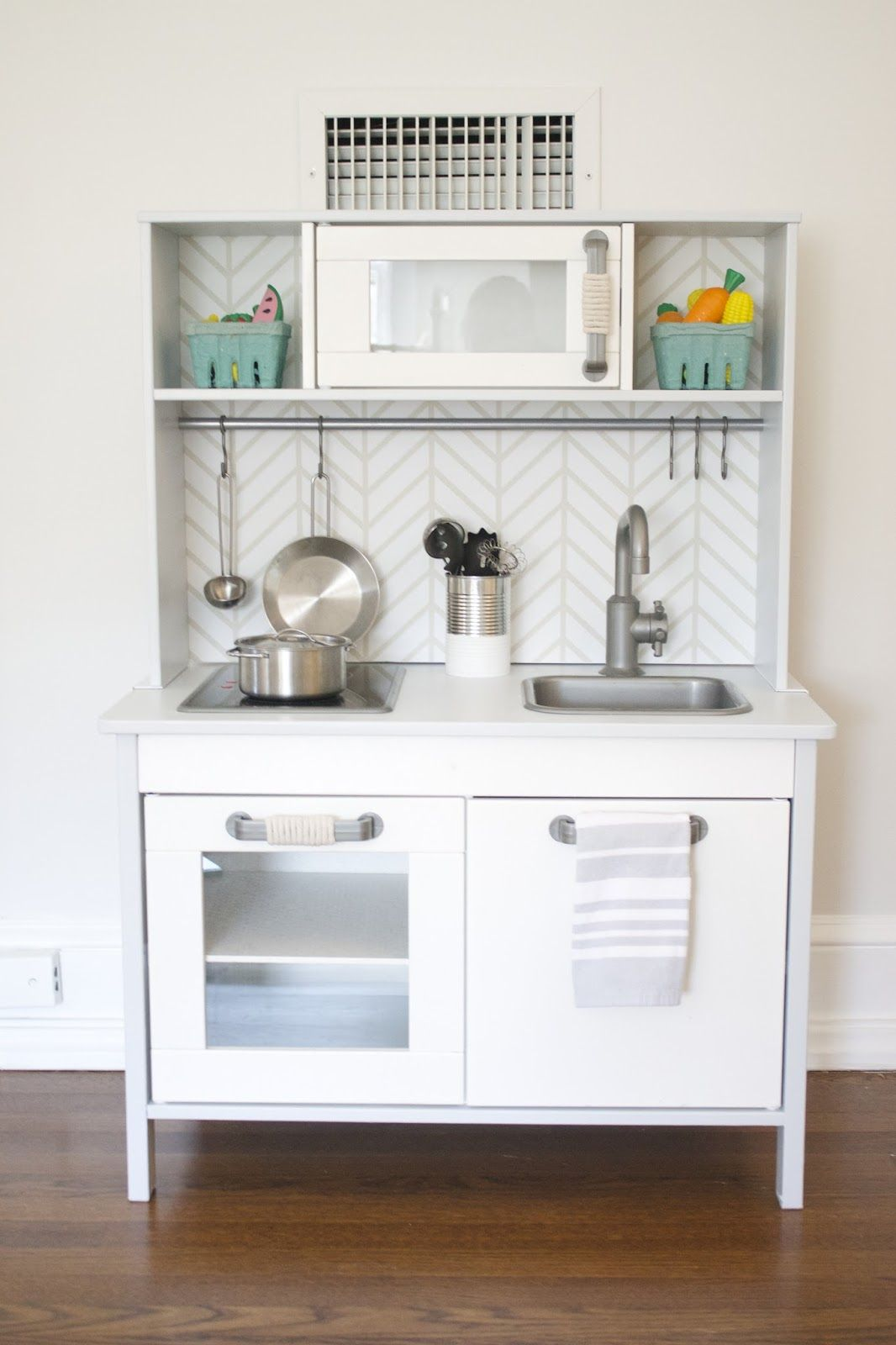 Ikea Küche Organisation The Picket Fence Projects Kiddie Kitchen Renovation