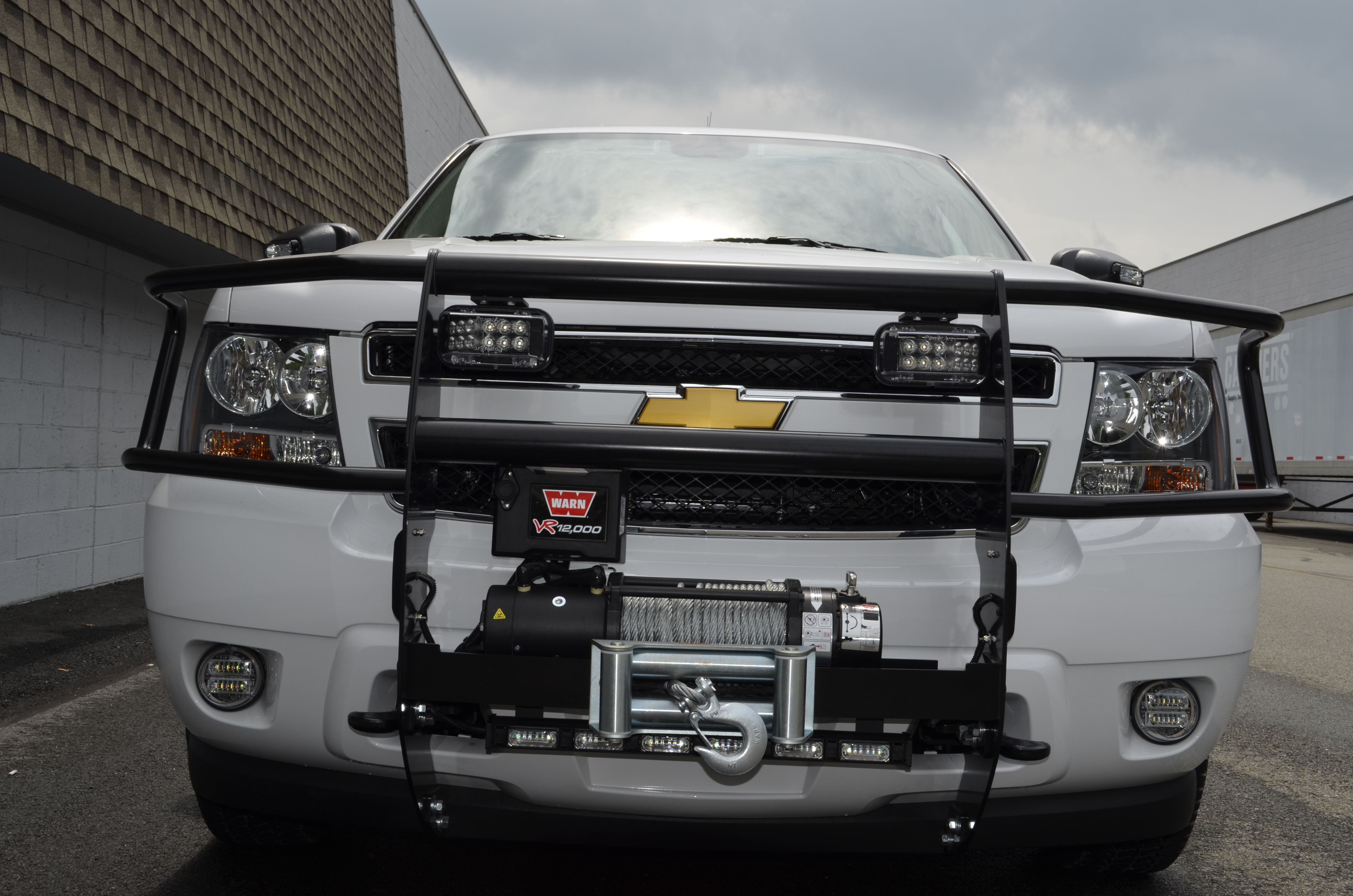 Winches And Grill Guards Grill Guard Truck Accessories Chevy