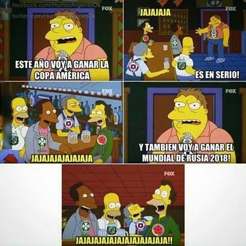 Y cada Copa América pasa lo mismo